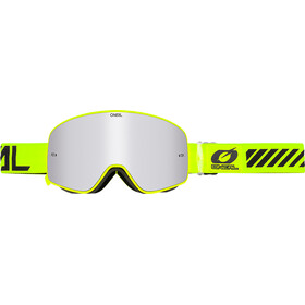 ONeal B-50 Goggles FORCE hiviz-mirror silver